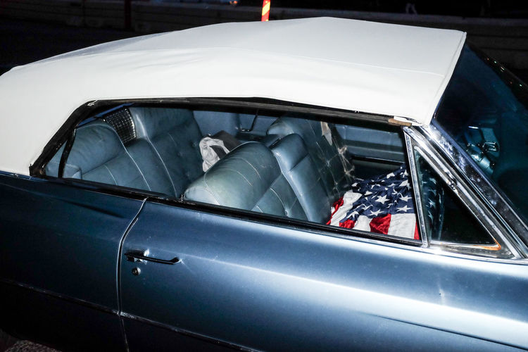 American Flag Color Palette Colour Of Life Cropped Flag Land Vehicle Mode Of Transport Parking Transportation The Drive