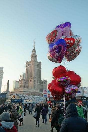 The area around the palace of culture around Valentine's Day last year in February. EyeEm Best Shots EyeEm Gallery EyeEmBestPics January2016 Januaryphotochallenge Palaceofcultureandscience Pałackulturyinauki Poland Polska Showcase: January Valentine Valentine's Day  Warsaw Warsaw Poland Warszawa  Huffington Post Stories