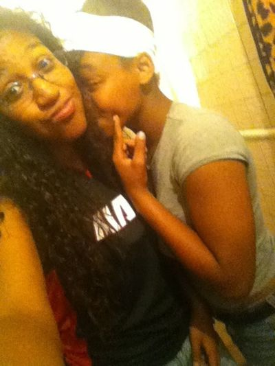 Her showin me some love lol
