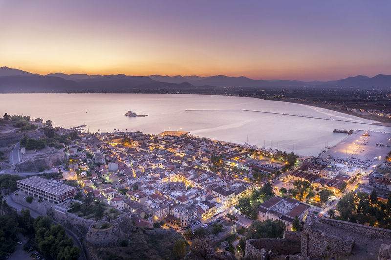 A6000 Aerial View Beautiful Sunlight Beautiful Sunset Calm City Lights City View  City View From Mountain Cityscape Cityscapes Coastline GREECE ♥♥ High Angle View Horizon Over Water Nafplion Outdoors Palamidi Reflection Sea Sky_collection Skyporn Sony A6000 Top Perspective Water