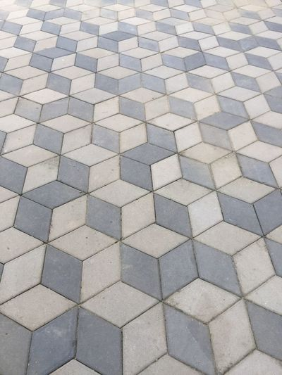 Full Frame Backgrounds Pattern High Angle View Footpath No People Day Textured  Design Repetition Shape Outdoors Paving Stone Flooring Stone Street Geometric Shape Square Shape Sunlight Cobblestone