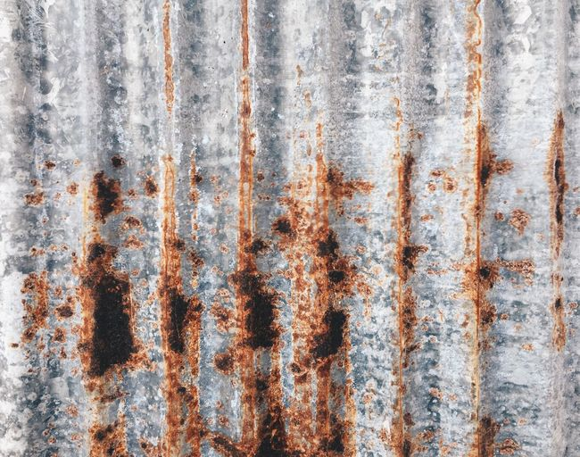 Full Frame Backgrounds Pattern Rusty No People Metal Old Bad Condition Damaged Close-up Day Decline Corrugated Iron Built Structure Wall - Building Feature Architecture Weathered Deterioration Run-down Textured
