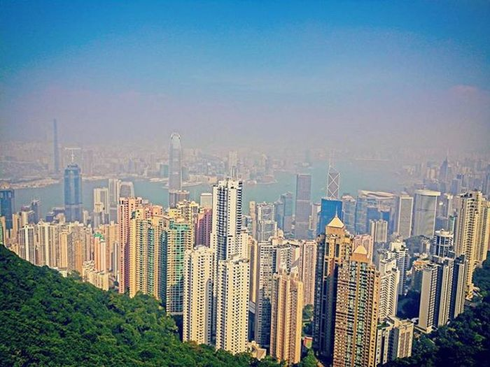 Beautifullday Thevictoriapeak Thepeak HongKong Mycity Ilovehongkong Hk China