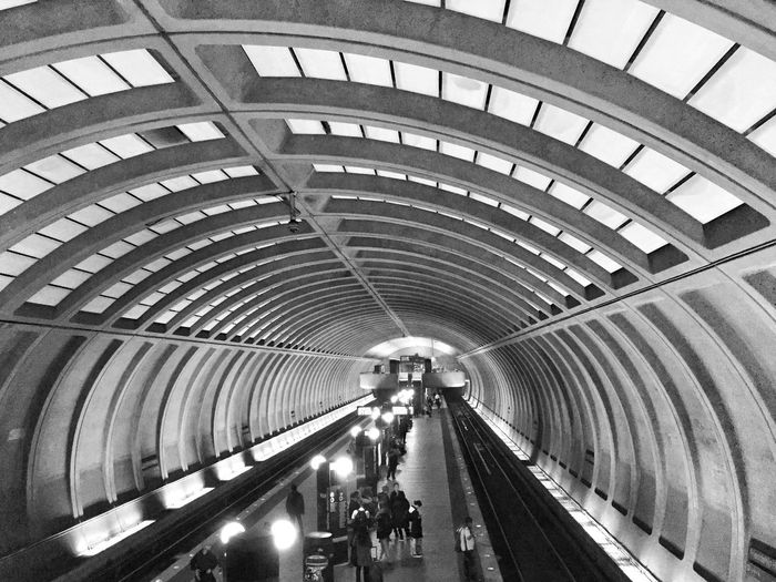 Notes From The Underground Subway Transportation Street Photography Black And White Monochrome IPhoneography Metro Station