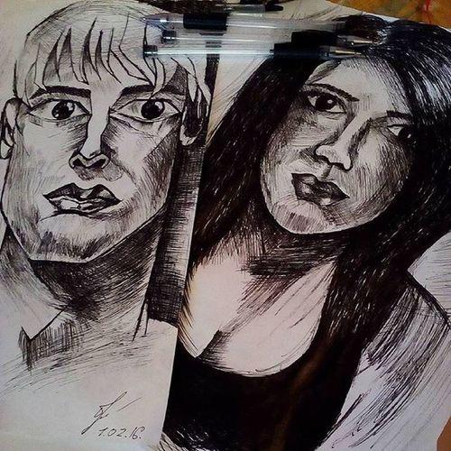 Два портрета.
