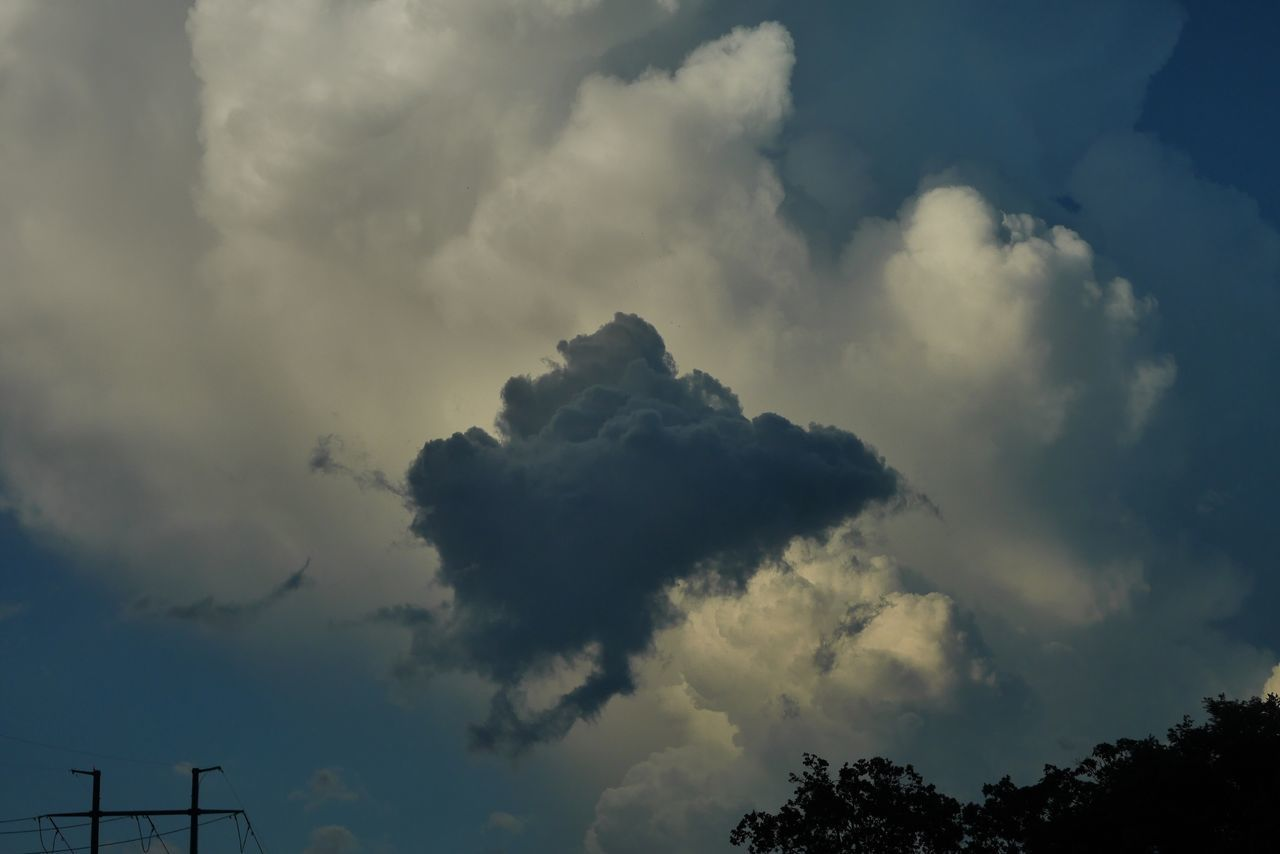 cloud - sky, sky, low angle view, weather, nature, beauty in nature, no people, day, scenics, outdoors, storm cloud, tranquility