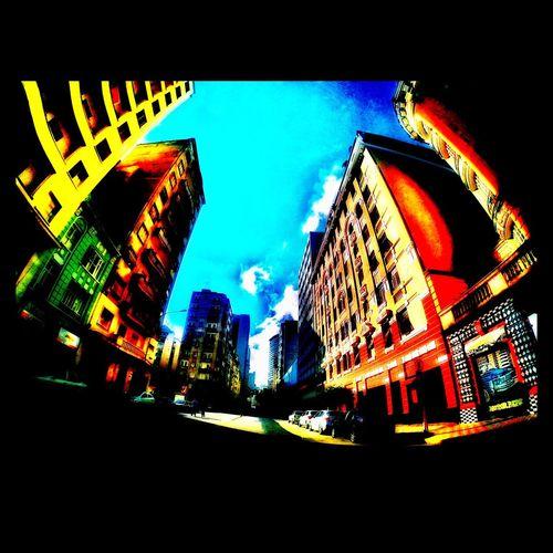 Downtown City Saopaulo Sampa Brasil Aloneatthecar GoPro Hero3+ Gopro Sunny Day Photography