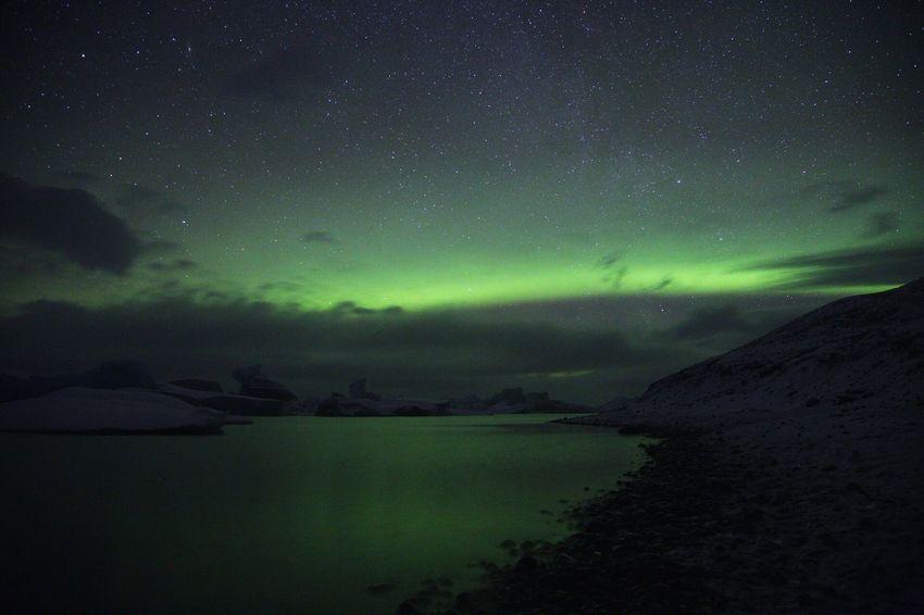 EyeEm Selects Sommergefühle EOS 6D EF 24-105mm Iceland Jökulsárlón Nature Northern Lights Aurora Landscape