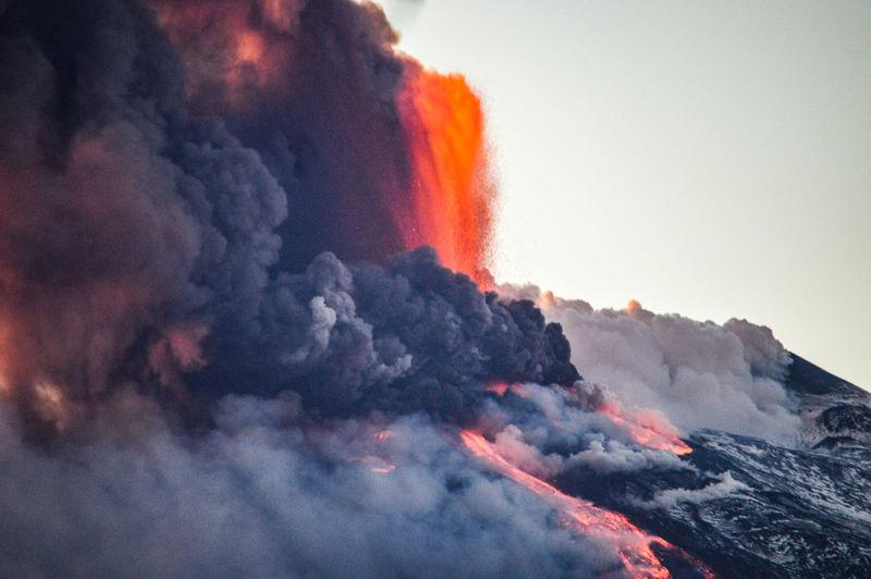 Eruzione etna 16.02.2021