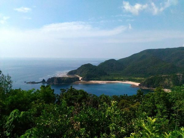 Landscape Travel Destinations Scenics Mountain Nature Tourism Water Outdoors Beauty In Nature No People Day Philippines BalerAuroraPhilippines Baler Seascape Sea Sea And Sky Seascape Photography Horizon Over Water Horizon