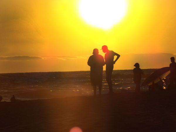 Sunset Dusk Leisure Activity Vacations Enjoyment