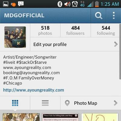 Follow me on Instagram @mdgofficial and hit my Links to Mdgofficial LiveIt WeDaCoolest thenewelement