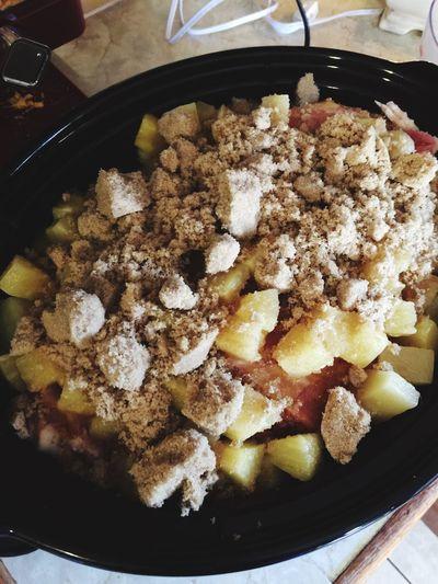Food Crockpot Delicious ♡ Ham