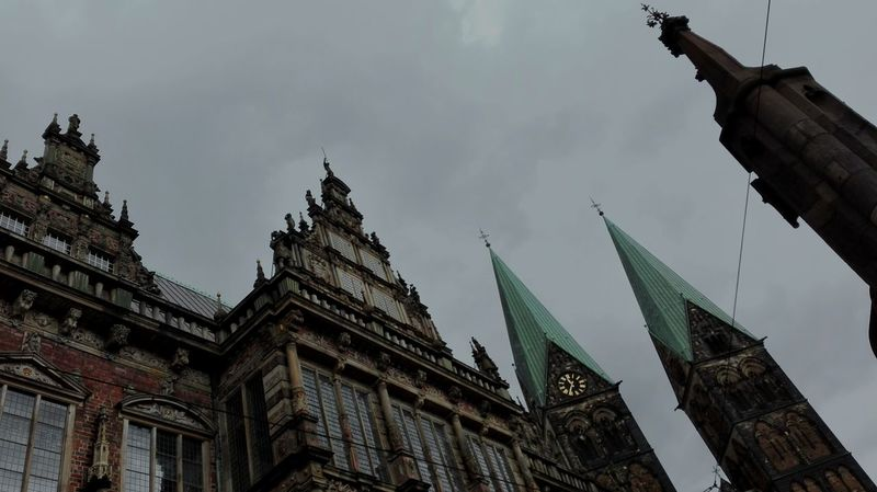 Bremen Germany Architecture Travel Destinations Sky Architecture Church Architecture Old Town Building Exterior Outdoors City Monuments Landscape_photography Cathedral