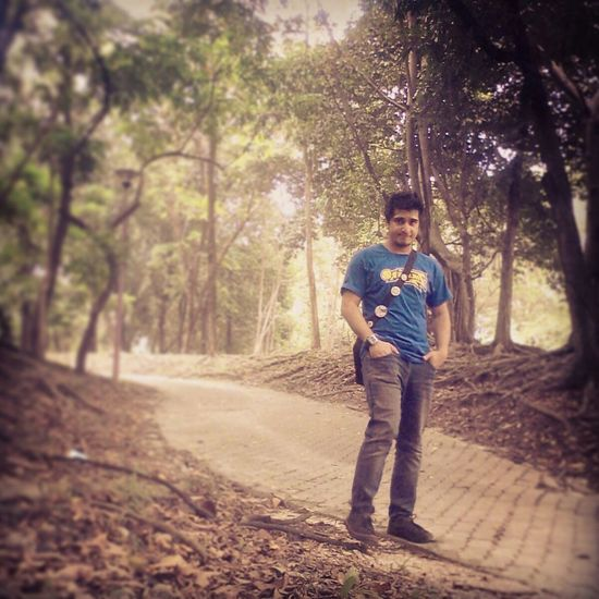 Hello Everybody <3 Self Time Taking Photos Jungle Shoot Cold Winter ❄⛄ Morning Walk Funny Moments