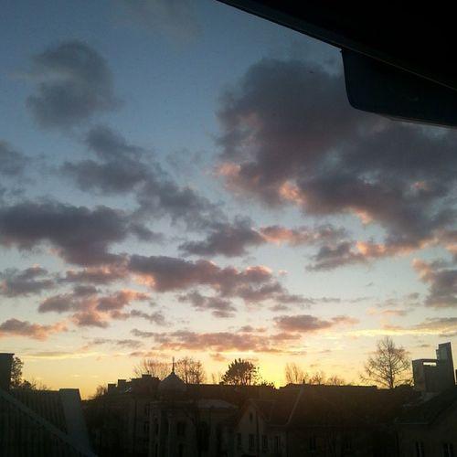 доброеутро  безфильтра  небо 7 утра рассвет