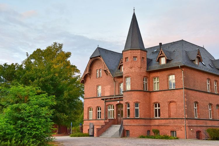 Historical Building Schlossgut Altlandsberg Architecture Brick Building Building Exterior Built Structure Day History Manor House No People Outdoors Sky Tree