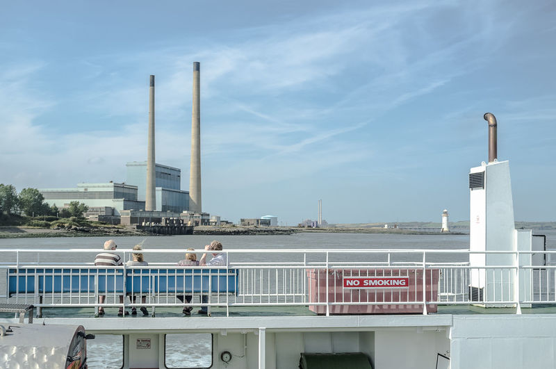 Shannon Ferry Ferry Nosmoking Transportation Pastel Power Power Plant Clean Air Ireland View Fuji X100 Journey FujiFilm X100