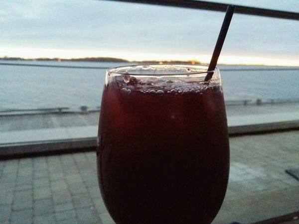 Theperfectview Sangria Drinks View Sunset Horizon Water Harborfront Nature Natureneedsnofilter Natural Beauty Good Times Chilling Perfection