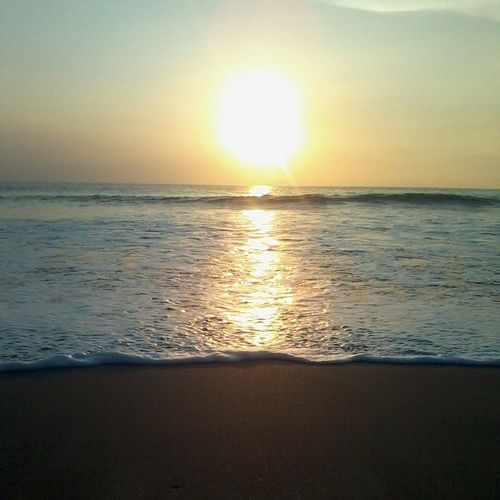 Sunset gradation Sunset Beach IndonesiaBeach Nature Indonesiaawsome Anyer