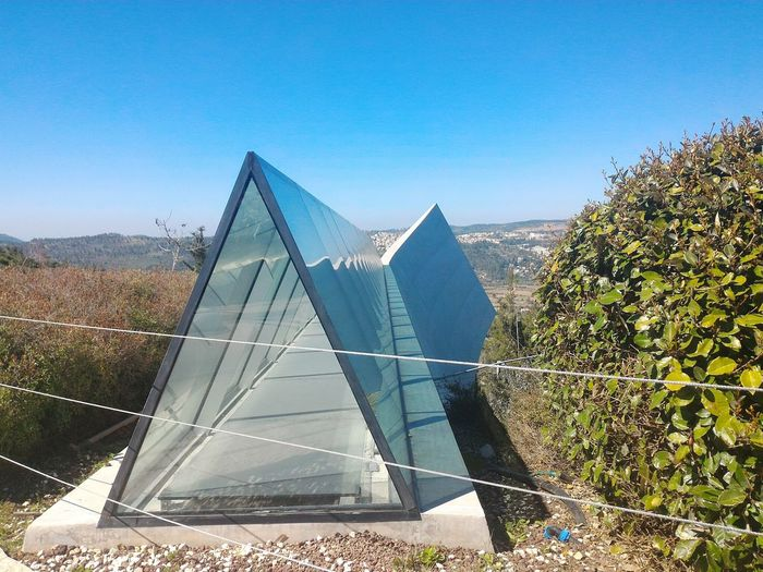 Triangle Yad Vashem Jerusalem Architecture Holocaust