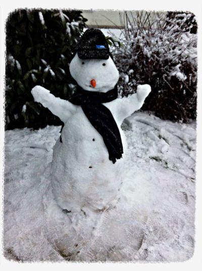 Schneemann Schorsch Winter Schnee EyeEmNewHere A New Beginning