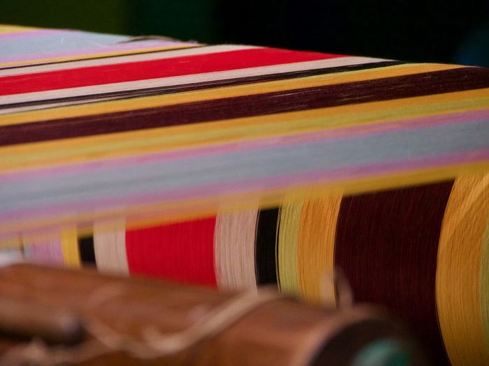 Multi Colored Close-up Selective Focus No People Still Life Indoors  Music Textile Variation Large Group Of Objects Choice Musical Equipment Pattern Arrangement In A Row Musical Instrument Abundance Striped Publication Stack