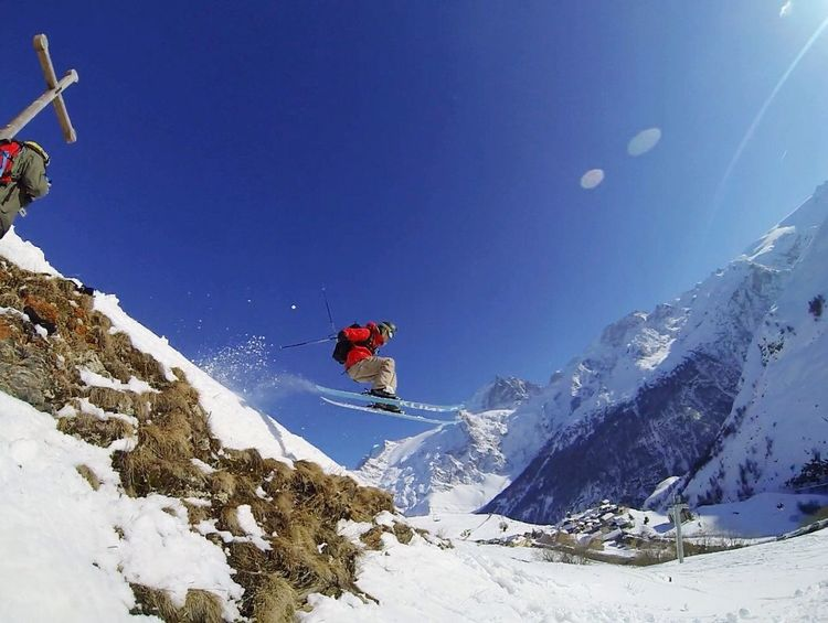 Need For Speed SSX for real ! Serre Chevalier  Alpes France Skiing Gopro Sport Sports Photography GoPro Hero3+ Goprooftheday