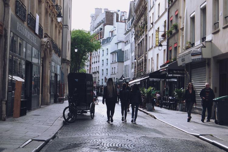 La Ressourcerie Rue Leopold Bellan Paris Paris, France  Street Photography Architecture