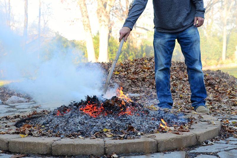 Showcase: November Fall Fire Man Rugged Style