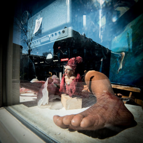 Body parts - feet Indoors  One Person Real People Human Hand Hand Glass - Material Holding Adult Men Occupation Transparent Working Meat Window Day Reflection Human Body Part Women Preparation