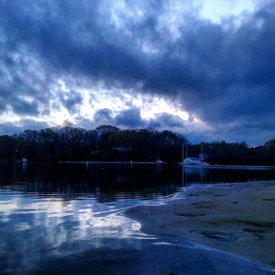 After The Sunset My Backyard Oasis Beautiful Peaceful California MD USA Water Reflections
