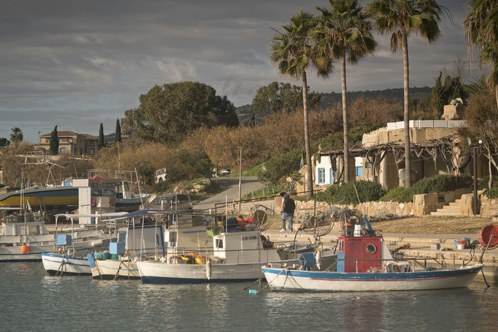 Marina Marina, Harbour, Boat, Boats, Fishing, Fishing Boats, Hotel, Beach, Beach Hotel Architecture Beach Building Exterior Built Structure Day Moored Nature Nautical Vessel No People Outdoors Palm Tree River Sailboat Sky Transportation Tree Water Waterfront Yacht