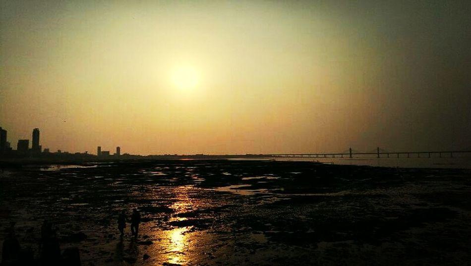 Classy Sunset Bandra-worli Sealink Instapicha #randomclick