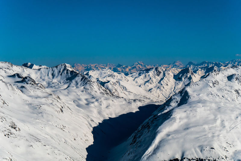 Alpine panorama - winter in Soelden, Austria Holidays Skiing Snowboarding Winter Winter Sport Beauty In Nature Blue Cabin Chairlift Cold Temperature Day Landscape Mountain Mountain Range Nature No People Outdoors Resort Scenics Ski Resort  Sky Snow Snowcapped Mountain Snowy Sport Tranquil Scene Tranquility Vacation Winter