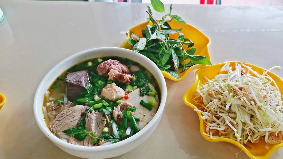 Bunbohue Meat Bowl Soup Vegetable Herb Close-up Food And Drink The Foodie - 2019 EyeEm Awards