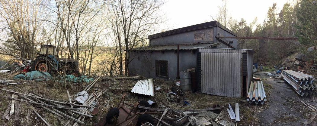 .::Traktor::. Rurex Abandoned One Photo A Day 2014 Panorama day 96.