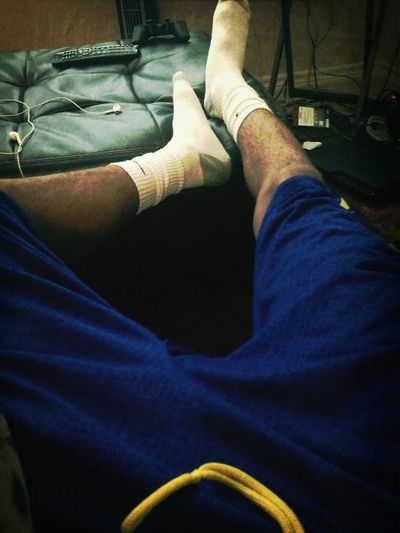 Chilling With My Feet Up