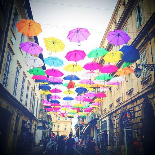 Umbrellas Umbrella Streetphotography Streetart Sky Colorful Rain Rainy Days Colors Of Carnival