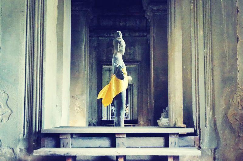 Buddha Statue Ankorwat