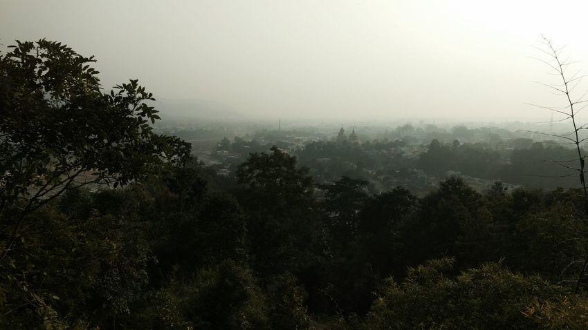 Nature Hill Silhouette Kotdwar Uttarakhand