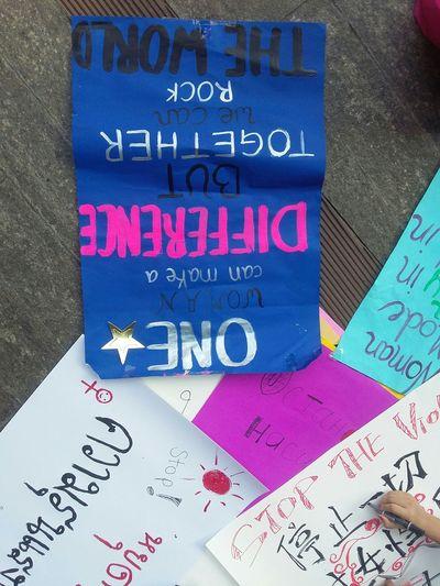 Poster OneBillionRising International Women's Day Bangkokrising