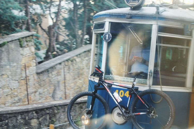 Feel The Journey Journey Movement Photography In Motion Photography Day Trieste, Italy Trieste Opicina Tram De Opicina Tram Reflection Window Reflections Let's Go. Together. Mobility In Mega Cities