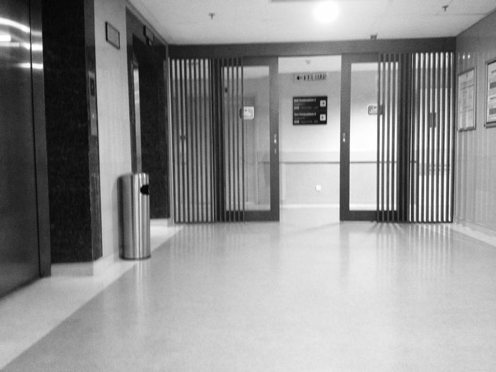 EyeEm Selects Indoors  Door Corridor Architecture Built Structure No People Day Hospital View Hospital Ward Entrance Operation Theatre Emergency