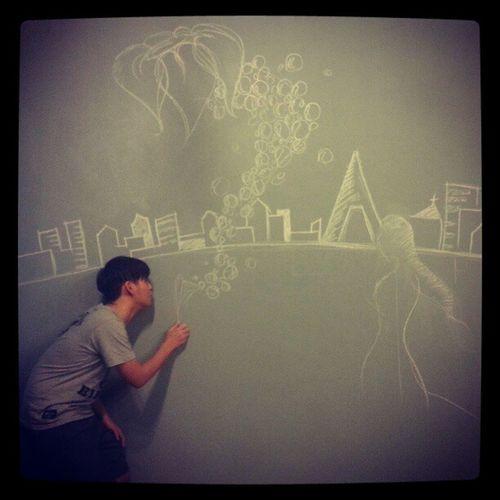 Processing*** Wallpaintdesign Drafty Draw Art wallpaint working fun processing view tonight