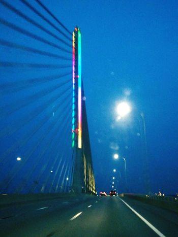 Bridge Cable Stayed Toledo, Ohio Toledo