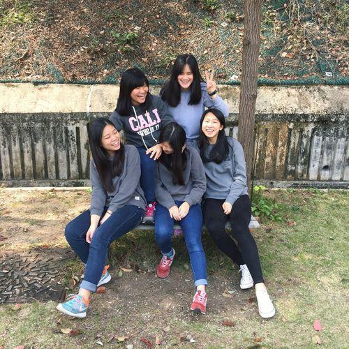 We 5😘👧🏻👧🏻👧🏻👧🏻👧🏻 Chiu's2016 Camping We Five Girls Love Church