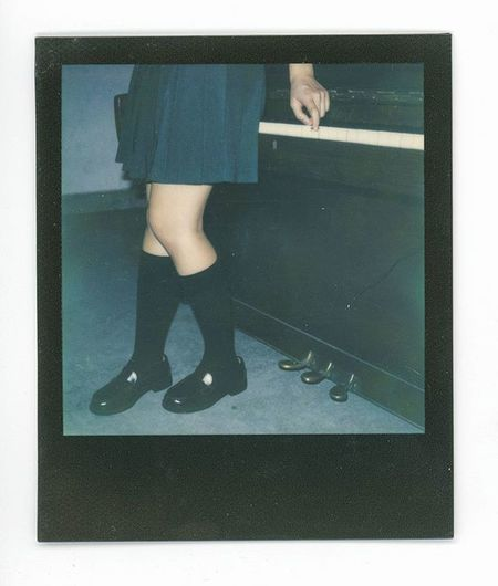 路過東莞. Polaroid Polaroidslr680 Meaninglessart Film Filmphotography Impossible Jk Japaneseschooluniform Japan Girl