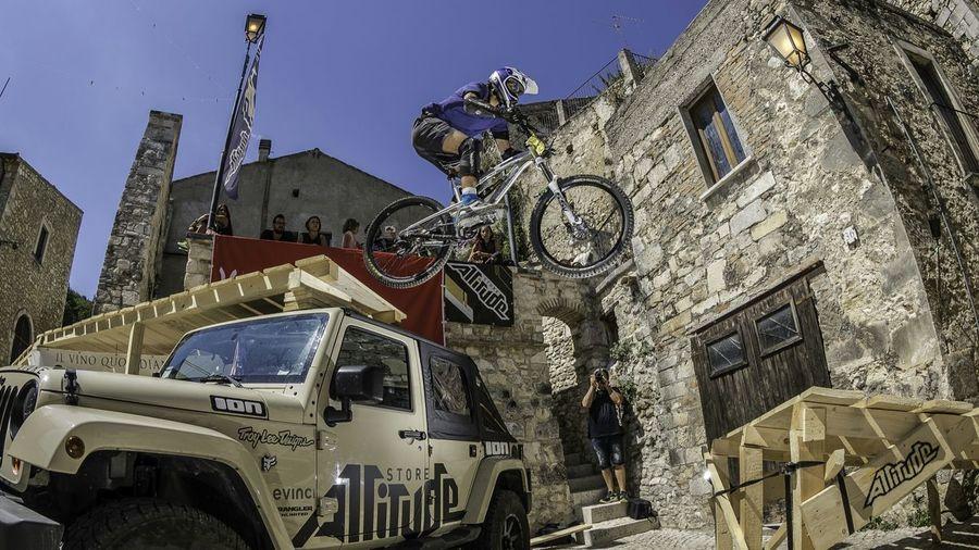 My first downhill race Downtown Downhill Santacruz Pretoro Abruzzo MTB