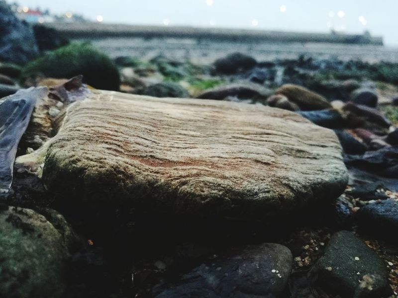 HuaweiP9 Huaweiphotography EyeEm Best Shots Rock Rock - Object Striations Pattern Beauty In Nature Water Beach Sea Fishing Net Fishing Tackle Sky Close-up Shore Geology Rugged Eroded Rock Formation Rock Hoodoo Sandy Beach